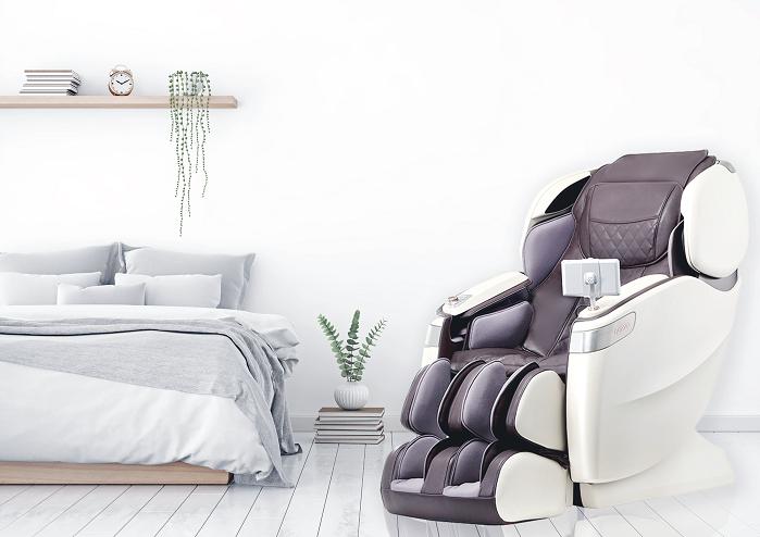 Stoelmassage stoel in de slaapkamer