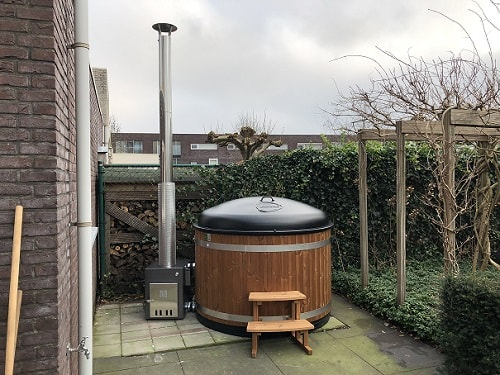 Thermowood hottub Tilburg