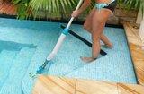 Handmatige buitenspa cleaner _