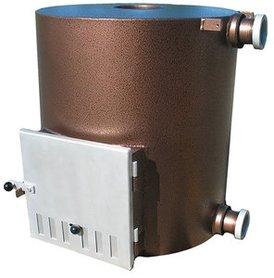 Kirami Tube 60kW externe hottub kachel