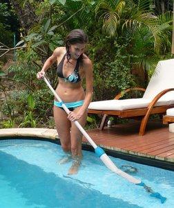 Handmatige buitenspa cleaner
