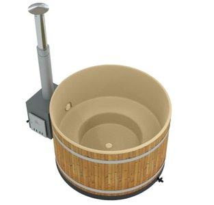 Hot tub houtgestookt Kirami